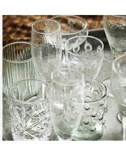 Lot de 6 verres à pois...