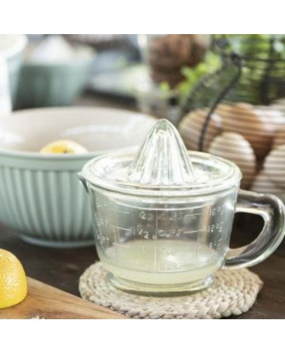 Presse citron en verre
