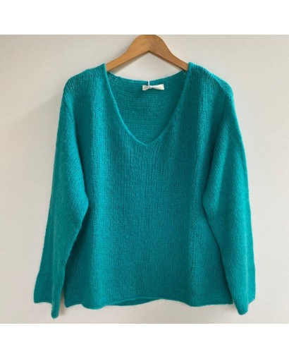 Pull maille col v taille...