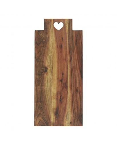 Planche en bois rectangle
