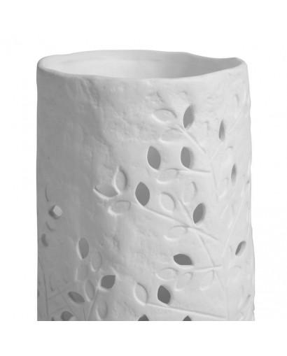 Lampe porcelaine cylindrée...