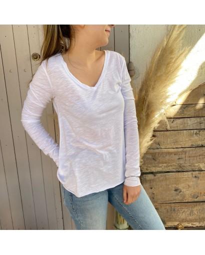 Tee-shirt JAC 52 Blanc...