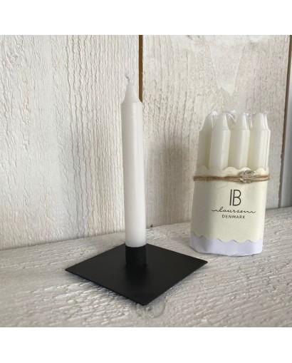 Bougeoir Métal Noir IB Laursen